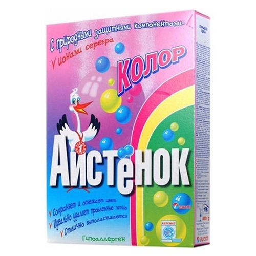 Стиральный порошок (СМС) АИСТЕНОК Колор 400 г