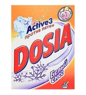 Стиральный порошок для ручной стирки Dosia Белый снег 365 г