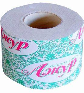 Туалетная бумага АЖУР 54 метра 48 шт