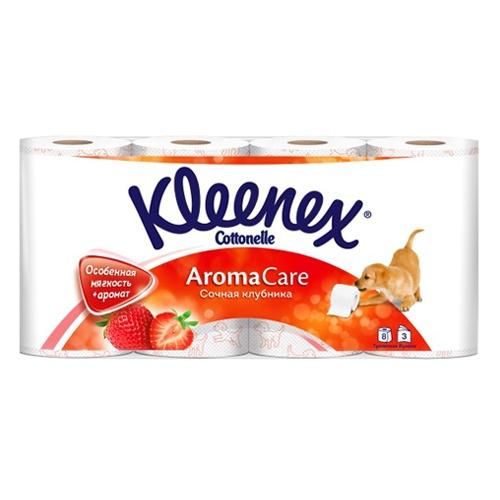 Туалетная бумага KLEENEX Трехслойная