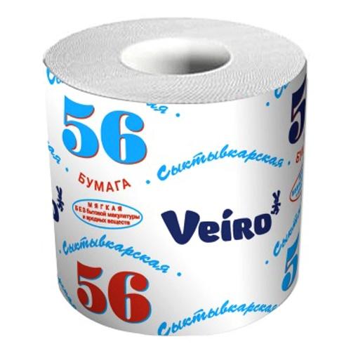 Туалетная бумага Сыктывкар 56 метров 72 шт