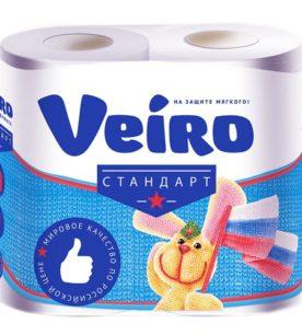 Туалетная бумага Veiro Standart 4 шт