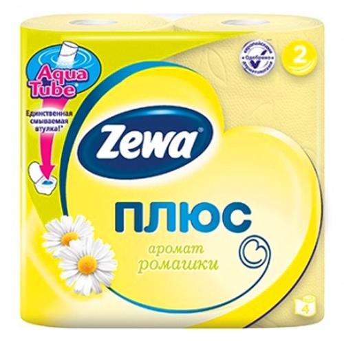 Туалетная бумага Zewa Плюс