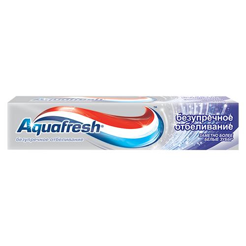 Зубная паста Aquafresh Безупречное отбеливание 100 мл
