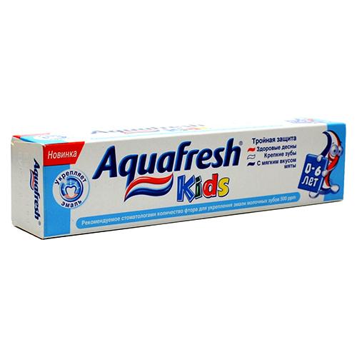 Зубная паста Aquafresh Kids