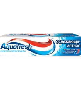 Зубная паста Aquafresh Освежающе-мятная 100 мл