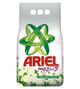 Стиральный порошок Ariel Белая роза 3 кг