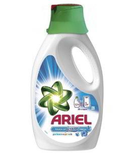Жидкий стиральный порошок Ariel Lenor fresh 1