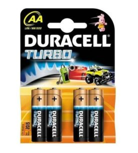 Батарейки Duracell Turbo AA 4 шт