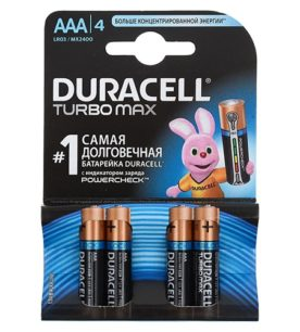 Батарейки Duracell Turbo Max