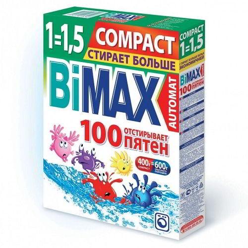 Стиральный порошок Bimax 100 пятен 400 г