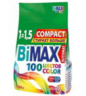 Стиральный порошок Bimax Color 1