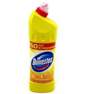 Чистящее средство для туалета Domestos Лимонная свежесть 500 мл