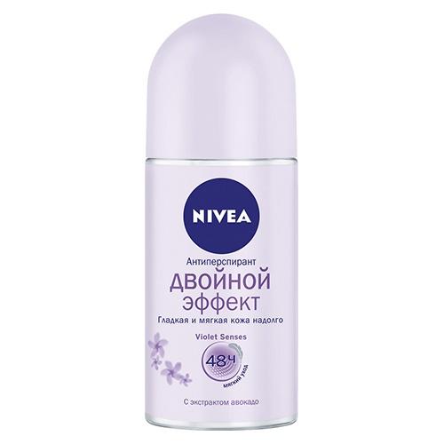 Део-дезодорант роликовый NIVEA Двойной эффект 50 мл