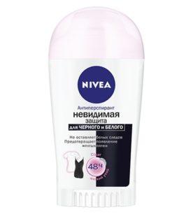 Део-дезодорант стик NIVEA Невидимая Защита для черного и белого 40 мл