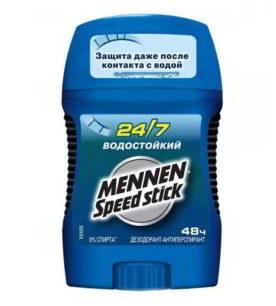 Дезодорант стик Mennen Speed stick Водостойкий 50 г
