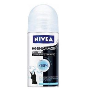 Дезодорант роликовый Nivea Невидимая защита для черного и белого 50 мл