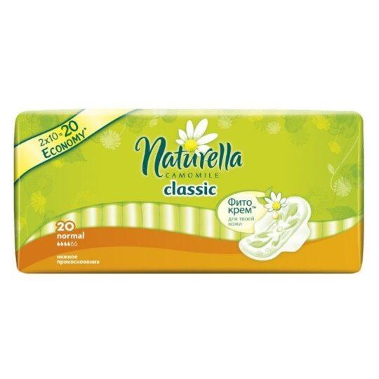 Ежедневные прокладки Naturella Camomile normal 20 шт