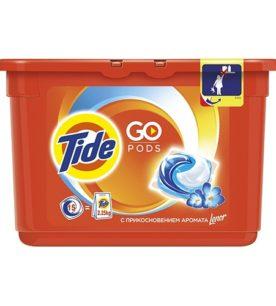 Гель-капсулы Tide Lenor 15 шт