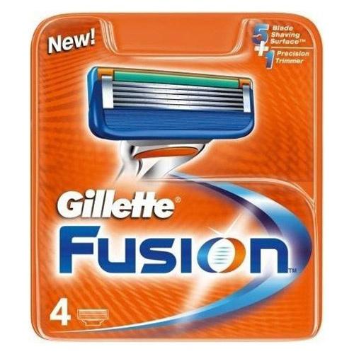 Кассета Gillette Масн-3 Fusion 4 шт