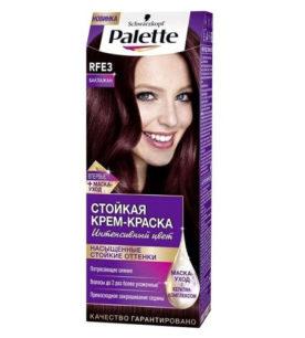Краска для волос Palette RFE3 Баклажан 1 шт