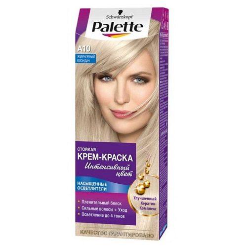 Краска для волос Palette A10 Жемчужный блондин 1 шт