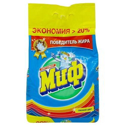 Стиральный порошок Миф Свежий цвет 2 кг