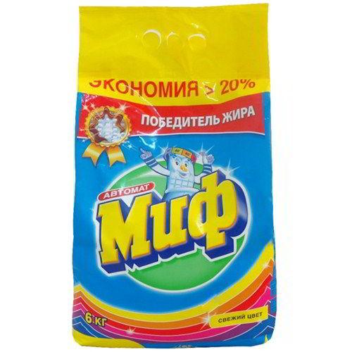 Стиральный порошок Миф Свежий цвет 6 кг