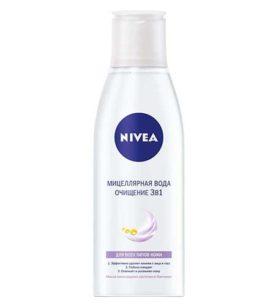 Мицеллярная вода NIVEA Очищение 3 в 1 200 мл