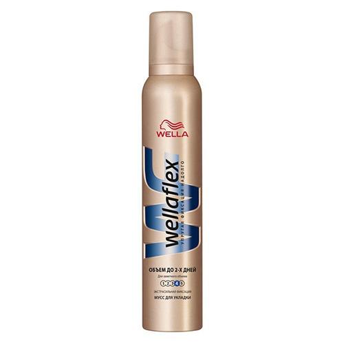 Мусс для волос Wellaflex Объем до 2-х дней 200 мл