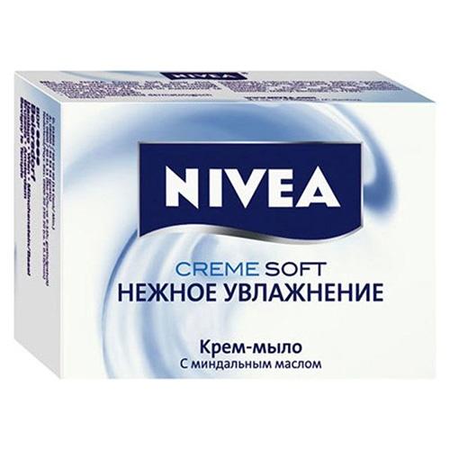 Мыло NIVEA Нежное увлажнение 100 г