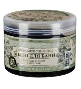Мыло Травы и сборы Агафьи На основе черного мыла Агафьи 500 мл