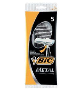 Одноразовый станок Bic Metal 5 шт
