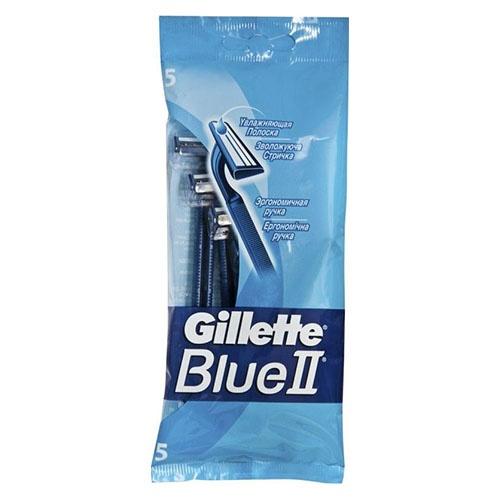 Одноразовый станок Gillette Blue II мужские 5 шт