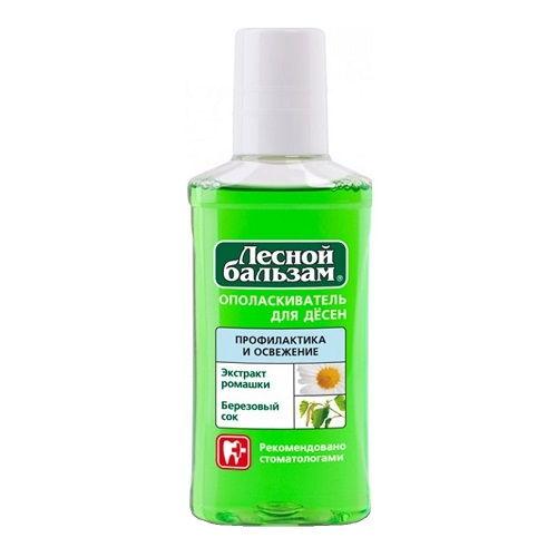 Зубной ополаскиватель Лесной бальзам Березовый сок и экстракт ромашки 250 мл