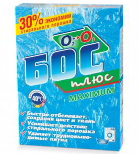 Отбеливатель Бос плюс Maximum 600 г
