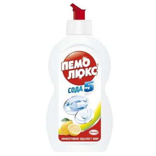 Средство для мытья посуды Пемолюкс Лимон 450 г