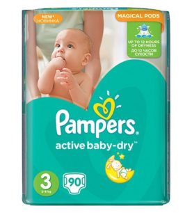 Подгузники Pampers Active Baby Midi 5-9 кг 22 шт