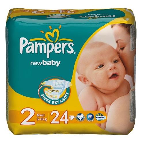 Подгузники Pampers Active Baby Mini 3-6кг 27 шт