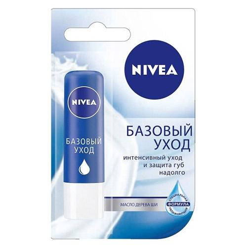 Помада - бальзам для губ NIVEA Базовый уход