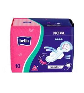 Прокладки Bella NOVA COMFORT soft air с крылышками 10 шт