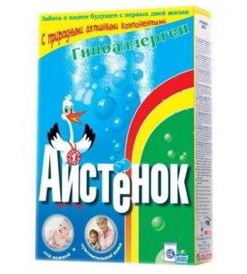 Детский стиральный порошок АИСТЕНОК Гипоаллерген 400 г