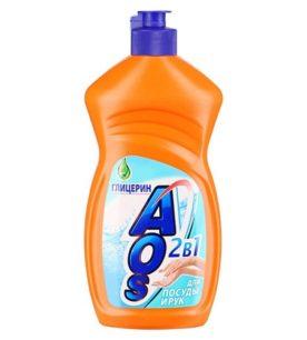 Средство для мытья посуды AOS Глицерин 500 мл
