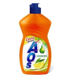 Средство для мытья посуды AOS Лимон, сила цитрусов, 500 мл