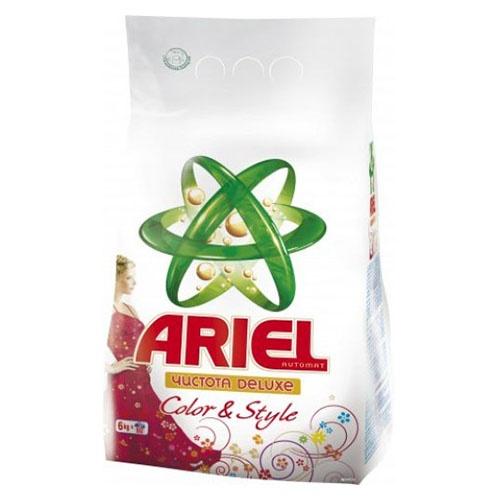 Стиральный порошок Ariel Color & Style 6 кг