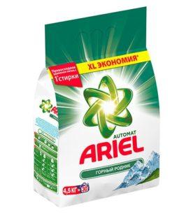 Стиральный порошок Ariel Горный родник 4
