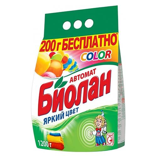 Стиральный порошок Биолан Color 2