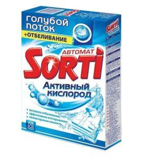 Стиральный порошок для ручной стирки Sorti Активный кислород 350 г