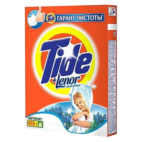 Стиральный порошок Tide Lenor touch 2 в 1 450 г