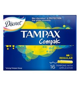 Тампоны Tampax Compak Regular 16 шт